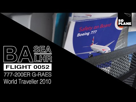 TRIP REPORT | British Airways | 777 | World Traveller | Seattle to London Heathrow | Full Flight