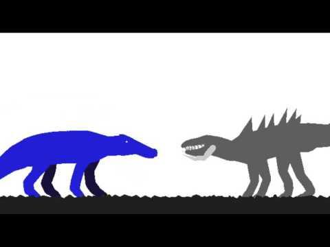 Kaprosuchus vs Postosuchus