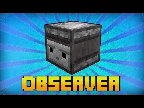 Minecraft Observer Bemutatás - 1.11 Update Tutorial