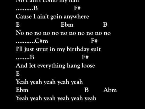 "Drum drum chords for songs : Bruno Mars ""Lazy Song"" - Drums Only w Scrolling Lyrics & Chords ..."