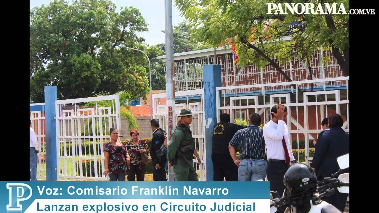 Circuito Judicial : Lanzan explosivo en circuito judicial penal de cabimas youtube