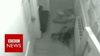 brutal-domestic-attack-caught-on-cctv-bbc-news