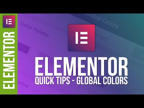 Create Awesome Colour Schemes in Elementor for WordPress - 동영상