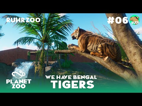 Majestic Bengal Tiger - Ruhr Zoo - Planet Zoo Franchise Episode 6