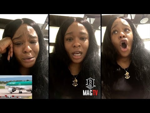 Azealia Banks Snaps After Being