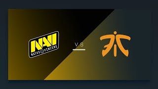CS:GO - NaVi vs. Fnatic [Overpass] Map 1 - EU Matchday 8 - ESL Pro League Season 8