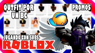 🔴ROBLOX '🎬OUTFIT COMPETITION FOR A BC🎬🌟PROMOS🌟🎮 PLAYING ON VIP SERVER WITH SUBSCRIBERS🎮