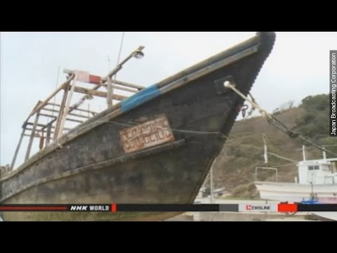 'Ghost Ships' With Dead Crews Keep Drifting Onto Japanese Shores - Newsy