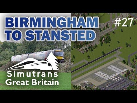 Simutrans: Birmingham To Stansted - Britain Episode 27