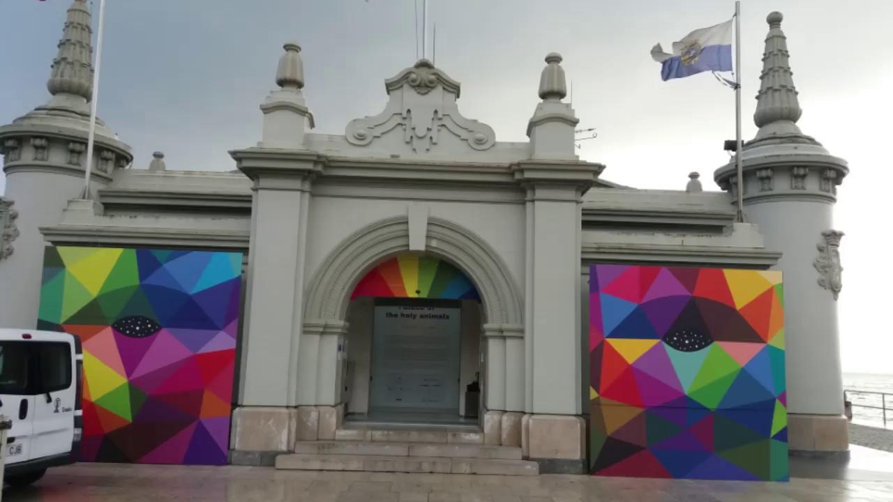 Exposicion De Okuda San Miguel En Santander Youtube