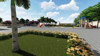 Architectural  Walk through: Gyan Geeta Public School Anuppur, : Dysim3d