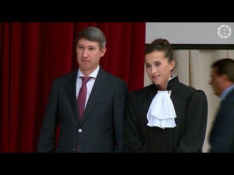 Присягу дали федеральные судьи