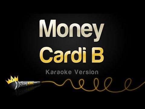 Cardi B - Money (Karaoke Version)