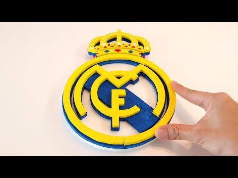How to Draw the Real Madrid Logo.