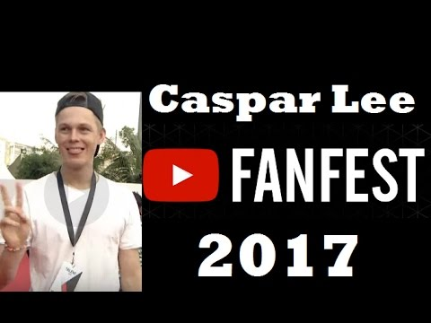 Caspar Lee On YouTube FanFest India 2017 #YTFF - YouTube