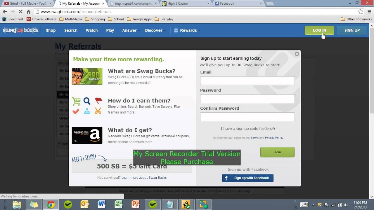 Earn 1000 swagbucks a day - How To Earn A Lot Of Swagbucks In 5 Short Days 2013