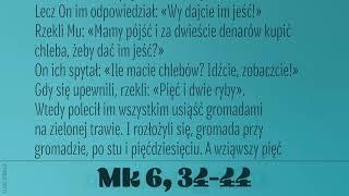 #Ewangelia | 8 stycznia 2019 | (Mk 6, 34-44)