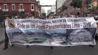 Tema: San Marcos se Moviliza al Congreso en Busca de ser Sede de los Panamericanos 2019