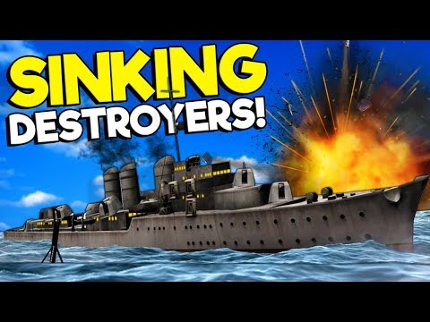 Spycakes & I Became Submarine Operators & Sank Ships In Virtual Reality! - Iron Wolf VR Multiplayer