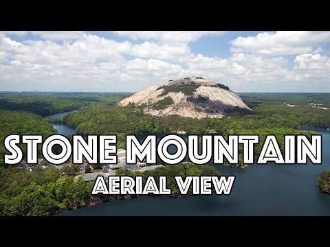 Stone Mountain, GA - Drone View