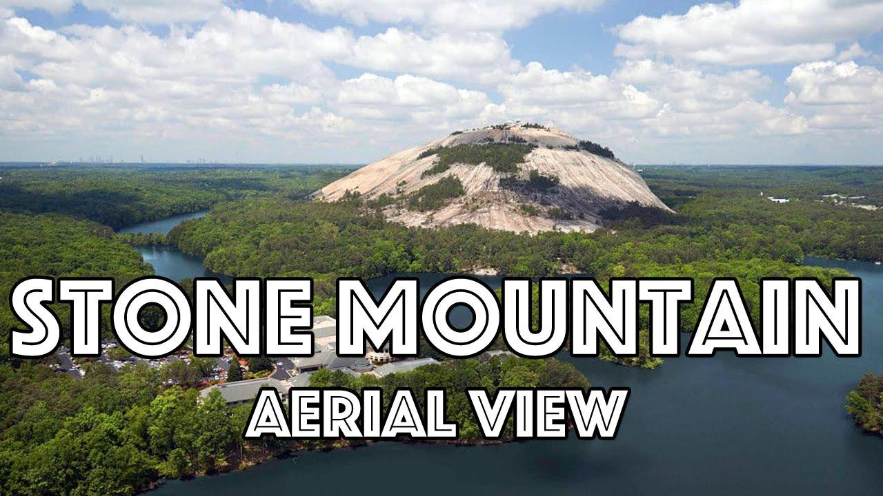 explore stone mountain ga drone view youtube