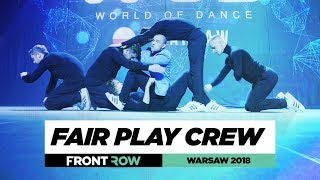 Fair Play Crew | FrontRow | World of Dance Warsaw 20187 | #WODWAW18