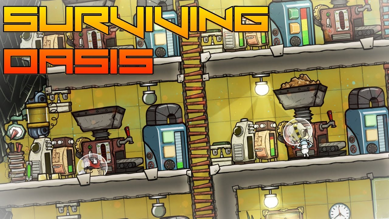 Refining My Base! Oxygen Not Included ep13