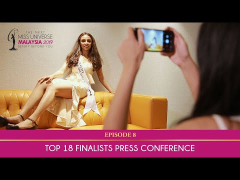 The Next Miss Universe Malaysia 2019 | Top 18 Finalists Press Conference