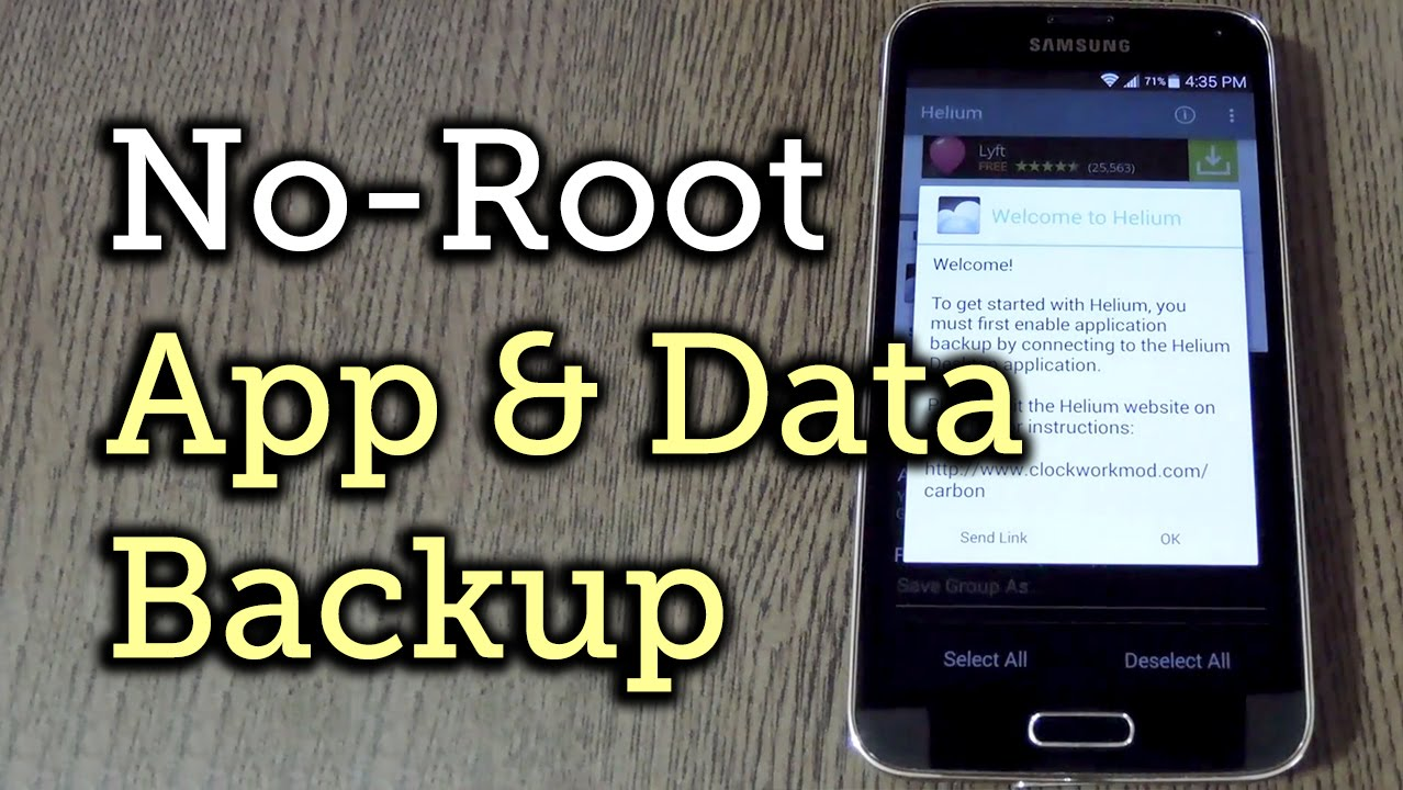 how to backup game data on android without root