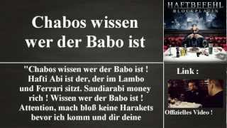 """""""Blockplatin"""" [ Blockseite ] von Haftbefehl - Albumanalyse [German]"""