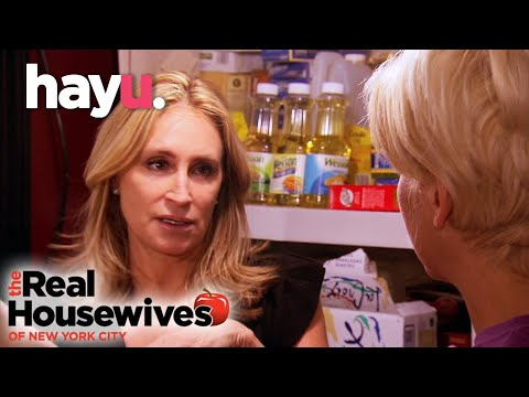 Sonja Gets Emotional Clearing The Basement | The Real Housewives of New York City