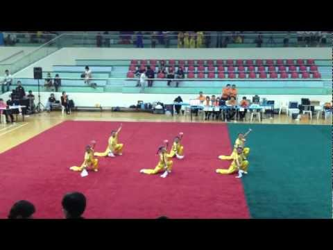 Maha Bodhi-8th National Primary School Wushu Championship 2012-Group Weapon Junior Girls (Gold)