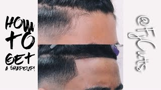 How to get a Hairline For Shape Up/Line Up!