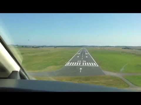CJ4 Exec Flight - Approaching Inverness (EGPE), Scotland