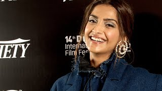 Sonam Kapoor on the appeal of Disney's 'Khoobsurat' and upcoming projects - Dubai Int'l Film Fest