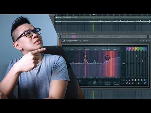 Make VOCALS sound GOOD! FL Studio 12 mixing + mastering 🎚