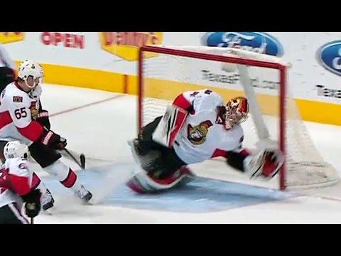 Anderson dives to make superb shoulder save