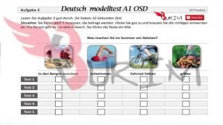 A1 grundstufe deutsch purfung sprachdiploma