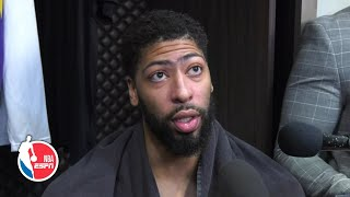 Anthony Davis breaks down Lakers' win vs. Celtics | NBA on ESPN