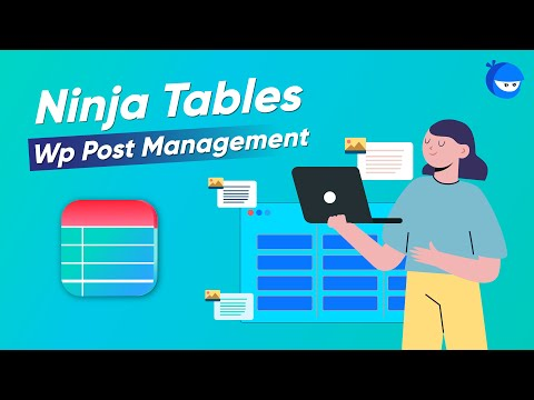 How to Create Tables From WordPress Posts in a Minute!