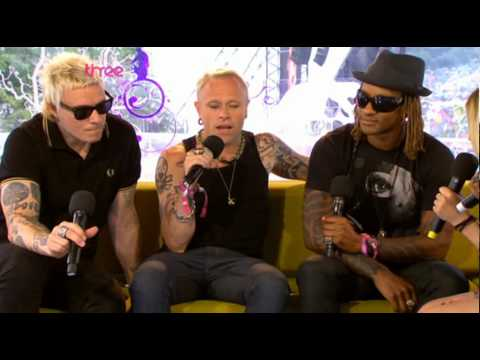 The Prodigy interview before show at Glastonbury 2009