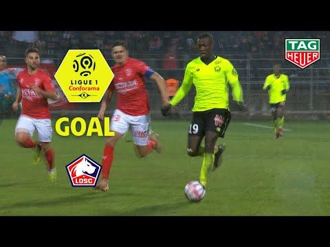 Goal Nicolas PEPE (66') / Nîmes Olympique - LOSC (2-3) (NIMES-LOSC) / 2018-19