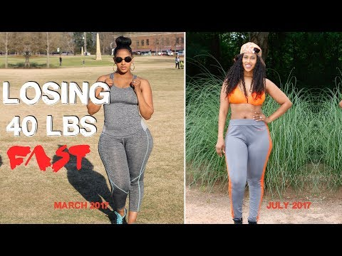 HOW I LOST 40 LBS IN 4 MONTHS | FITNESS FRIDAY | CHINACANDYCOUTURE