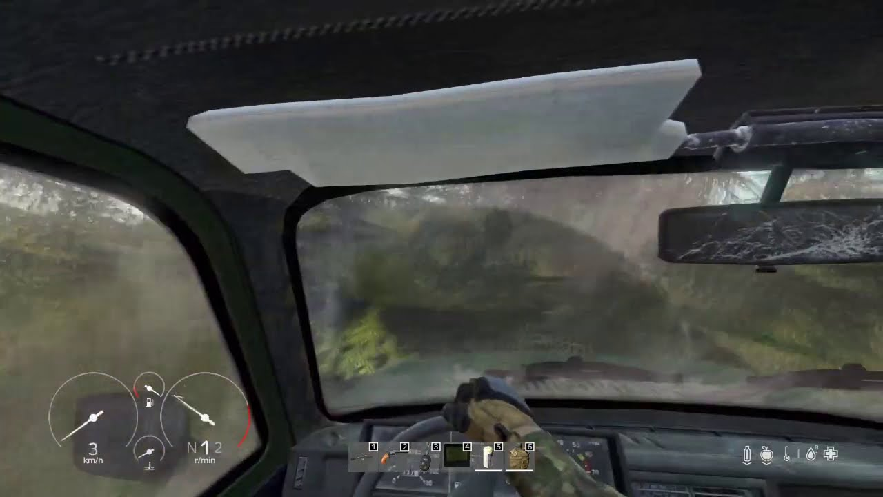 Crashed into another dimensoon