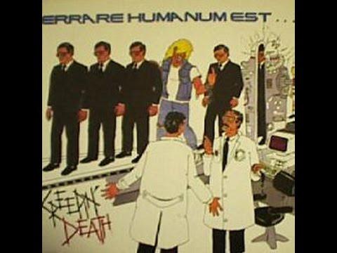 Creepin Death Errare humanum est perseverare diabolicum