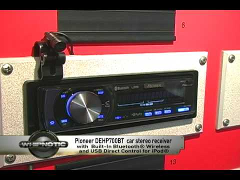 pioneer premier deh p700bt cd mp3 wma itunes aac wav in dash rh youtube com