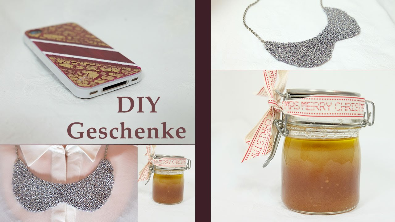 DIY (Weihnachts-) Geschenkideen für Freunde und Familie // Miss ...