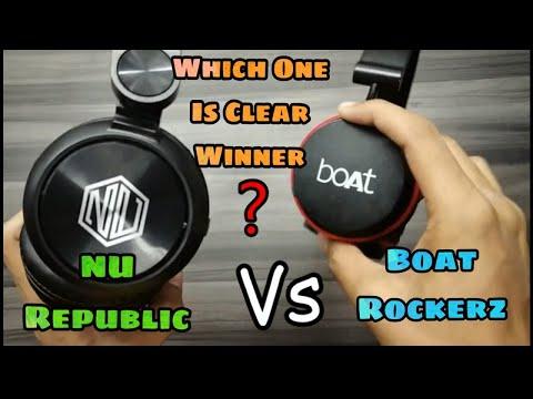 NU Republic Starboy Vs boAt Rockerz 400 Wireless Headphones | Comparison Video | The Decoders