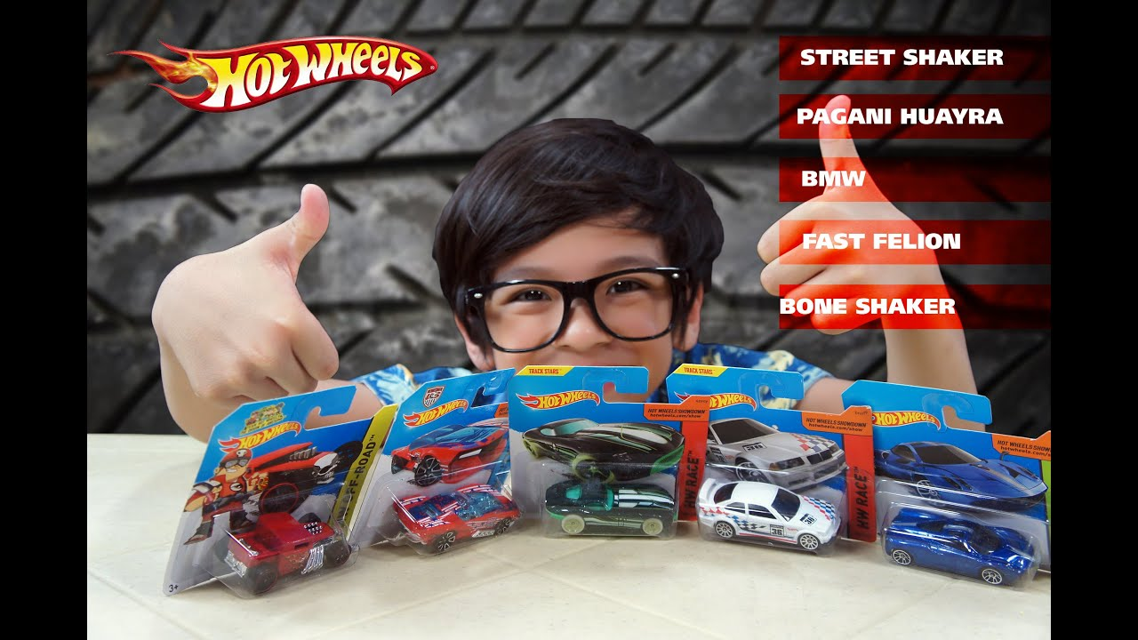 Hot Wheels Unboxing Street Shaker Pagani Huayra Bmw Fast