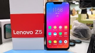 Lenovo Z5(Lenovo L78011)Unboxing,Quick Review Video